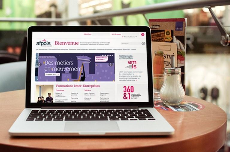 AFPOLS : Site web et extranet